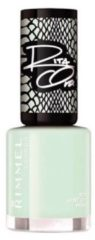 Groene Rimmel London 60 seconds supershine nailpolish by Rita - Hint of Mint - Cream Green