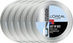L'Oréal Paris Studio Line Special FX Out Of Bed Fibre Cream - 6 x 150 ml - Crème - Voordeelverpakking