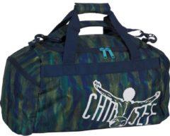 Sport Matchbag Reisetasche 56 cm CHIEMSEE line dance blu