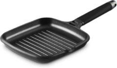 Fundix grillpan 27x27 cm met afneembare zwarte steel