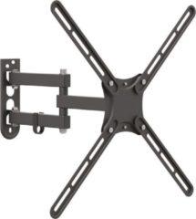 Barkan Mounts Barkan Full Motion TV-muurbeugel - 13 inch - 65 inch/33 cm - 165 cm - 36 kg - Zwart