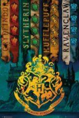 GB eye GBeye Harry Potter House Flags Poster 61x91,5cm