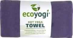 Ecoyogi Hot yoga handdoek - Paars