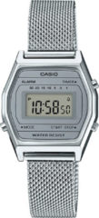 Casio Collection LA690WEM-7EF Horloge - RVS - Zilverkleurig - Vrouwen - Ø 26 mm