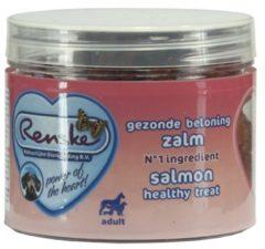 Renske Gezonde Beloning Hartjes 100 g - Hondensnacks - Zalm