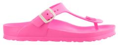 Roze Birkenstock Slippers Kinderen Gizeh EVA - 128463 Neon - Smal