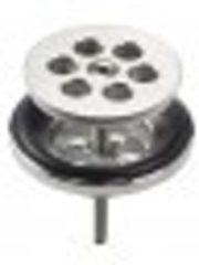 Zilveren Clou Mini Wash Me plug rvs geborsteld tbv siliconen waterstop H8cm CL/06.51020.41