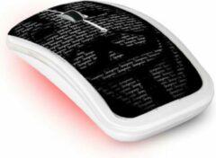 Zwarte ADVANCE S2-ANONYM muis RF Draadloos Optisch 1000 DPI Ambidextrous