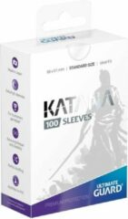 Ultimate Guard Katana Sleeves Standard Size White 100