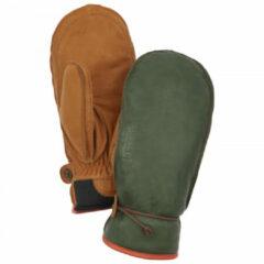 Hestra - Wakayama Mitt - Handschoenen maat 8, olijfgroen/bruin