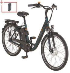 "Prophete E-Bike Alu-City Geniesser e8.6 inkl. 2 Akku und Seitenpacktasche Damen 28"""