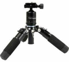 Rollei Rollei Compact Traveler Mini M-1 schwarz Ministatief Werkhoogte=12 - 41 cm Zwart, Blauw