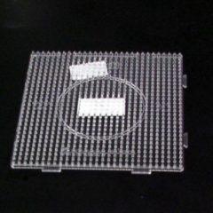Hama Strijkkralen Grondplaat Vierkant Transparant koppelbaar, midi (gewone) strijkkralen