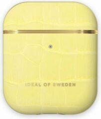 IDeal of Sweden AirPods Case PU voor 1st & 2nd Generation Lemon Croco