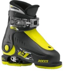 Roces skischoenen Idea Up junior zwart/lime maat 25 29