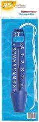 Merkloos / Sans marque Zwembad thermometer blauw 26 cm - Zwembadwater temperatuur meters