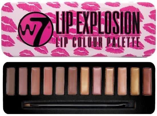 Afbeelding van Rode W7 Lip Explosion Lip Colour Palette