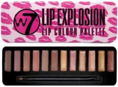 Rode W7 Lip Explosion Lip Colour Palette