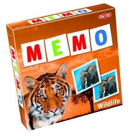 Afbeelding van Selecta Spel en Hobby Wildlife Memo - Kinderspel