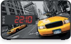 Gele Bigben-Interactive Bigben RR15TAXI Wekkerradio Met Led Display - New York Taxi