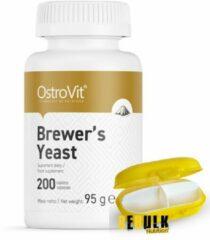 Supplementen - Brewer's Yeast 200 Tablets OstroVit + GRATIS Pill Box