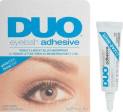 Transparante Purplebox Duo Eyelash Adhesive - Wimperlijm, Clear - 7gr.