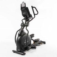 Zwarte Sole Fitness E35 Professionele Crosstrainer met Bluetooth - Gratis Borstband - Ventilator