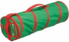 Groene Yogamat opbergtas 70 cm - Tas voor yoga en fitness sport matjes