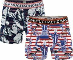 MuchachoMalo - Jongens 2-pack Ali Boxershorts - 158