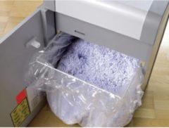 Dahle opvangzakken voor papiervernietigers met model 30404 t/m 30434 pak van 10 zakken