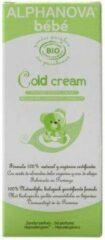 Witte Alphanova Bebe Biologische Organic Cold Crème voor Baby's