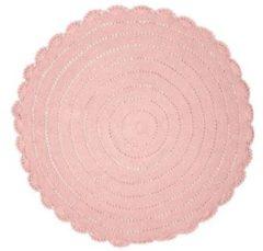 Kids Depot Kidsdepot Rond vloerkleed Ø110 cm roze Vloerkleed roze