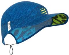 Blauwe Compressport Pro Racing Cap - Petten