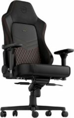 Noblechairs Hero Real leather gamestoel zwart/rood