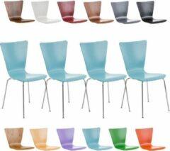 Clp Aaron Set van 4 Bezoekersstoel - Lichtblauw