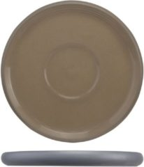 Cosy&Trendy Cosy en Trendy Iowa Taupe Koffieschotels Porselein D14cm - (Set van 6)