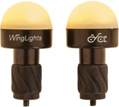 Rode CYCL WingLights DropLights - LED Fietsverlichting voor Racefiets Stuur Drop Bar