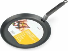 Zwarte Lacor Pannenkoekenpan Antikleef Inductie Ø 26 cm