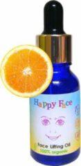 Solutions cosmeceuticals Happy Face Sinaasappel organic lift - anti-aging - anti-rimpel gezichtscreme - gezichtsolie - biologisch - zeer voedend en hydraterend