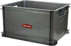 Curver Unibox L Zilver Classic 30 L 43x35x24.5cm (set van 3) En Yourkitchen E-kookboek - Heerlijke Smulrecepten