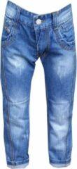 Blauwe Merkloos / Sans marque Jongens jeans Maat:134/140