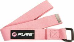 Pure2Improve - Yoga riem - 180 cm - roze - yogariem