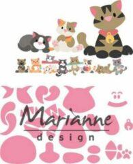 Roze Marianne Design Marianne D Collectable Eline's kitten COL1454 118x91 mm