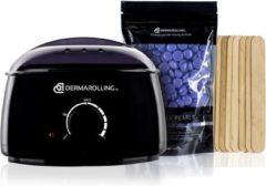 Dermarolling Wax Beans Pro SET 2020 – Inclusief 4 zakken Paarse Wax Beans & Spatels