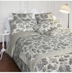 Laura Ashley Kuschelkissenbezug Toile V7 Satin Laura Ashley natur