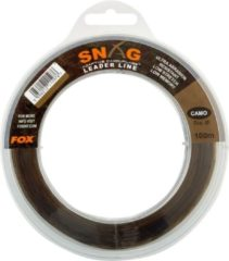 Fox Snag Leader - Camouflage - 50lb - 0.66mm - 80m - Camouflage