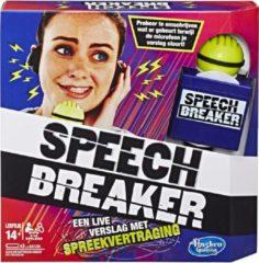 Hasbro gezelschapsspel Speech Breaker een live verslag