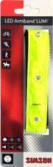 Gele Simson veiligheidsarmband verstelbaar led 20 cm