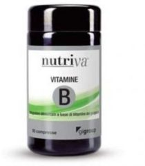 NUTRIVA VITAMINA B 50 COMPRESSE 50CPR Complemento alimentare di vitamine del gruppo B CABASSI GIURIATI