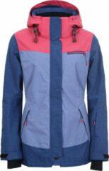Marineblauwe Icepeak Carey Dames Ski jas - Navyblue - 38